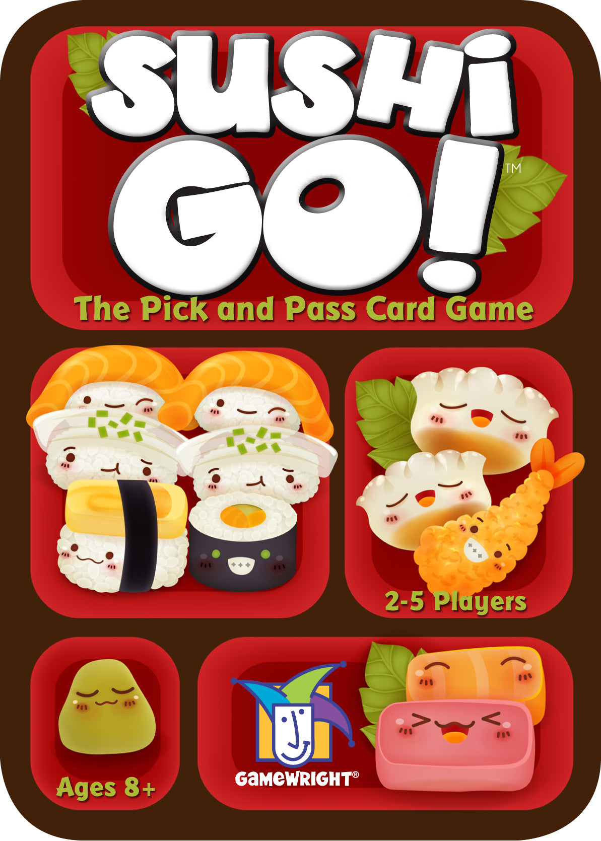 Sushi Go card game box cover
