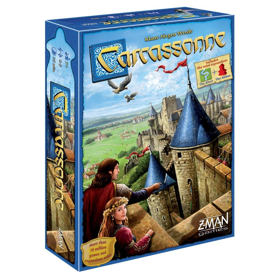 Carcassonne board game box cover