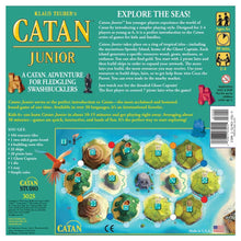 Load image into Gallery viewer, Catan Junior board game back of box