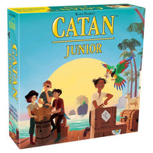 Load image into Gallery viewer, Catan Junior board game box cover