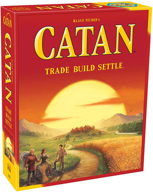 Catan board game box cover