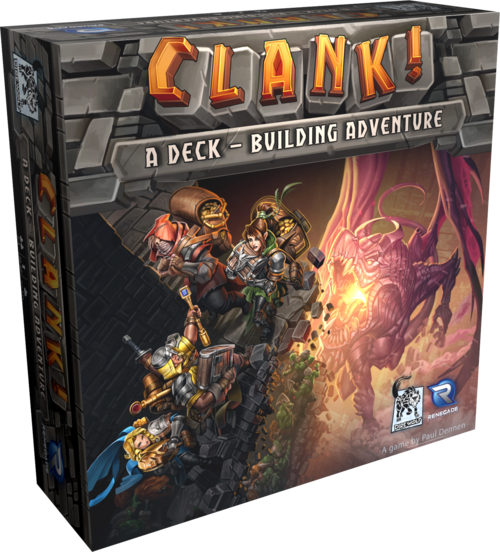 Clank! Deck Building Adventure board game box cover