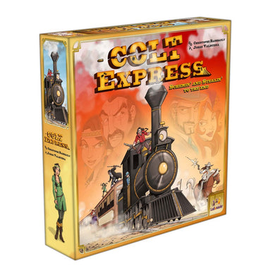 Colt Express board game box cover