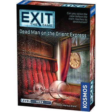 Exit the game Dead Man on the Orient Express box cover