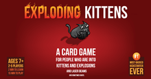 Load image into Gallery viewer, Exploding Kittens board game box cover