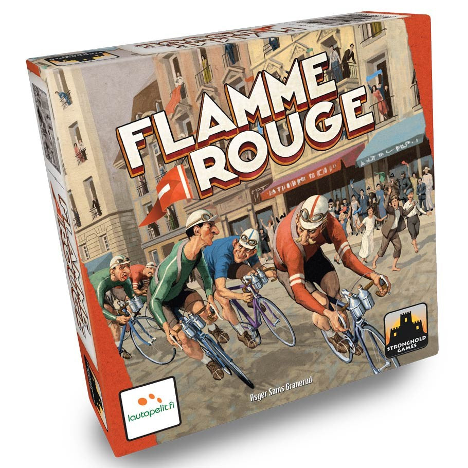 Flamme Rouge board game box cover