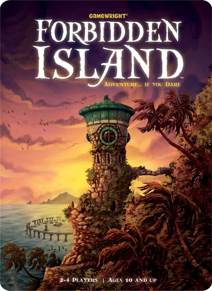 Forbidden Island board game box cover