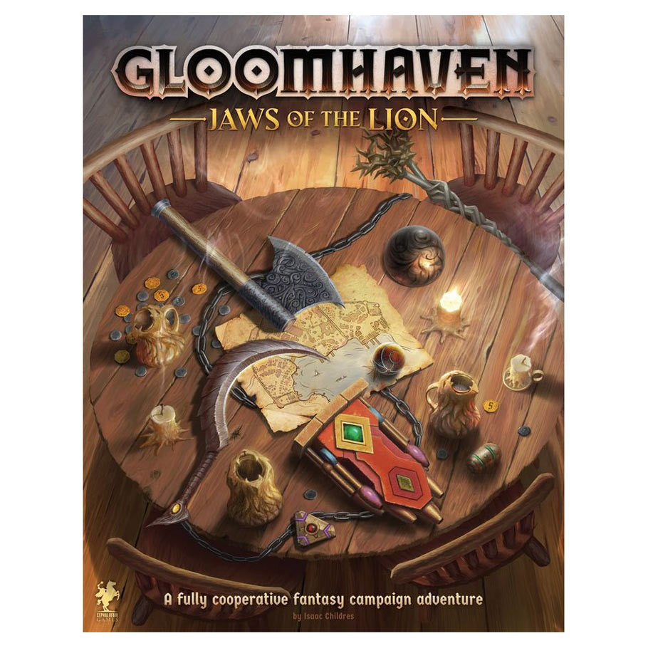 Gloomhaven Jaws of the Lion board game box cover