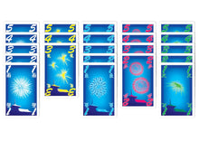Load image into Gallery viewer, Hanabi card game fireworks cards