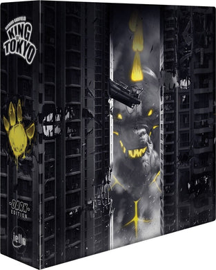 King of Tokyo Dark Edition board game box cover