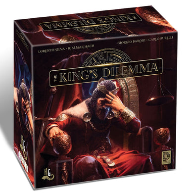 The King's Dilemma board game box cover
