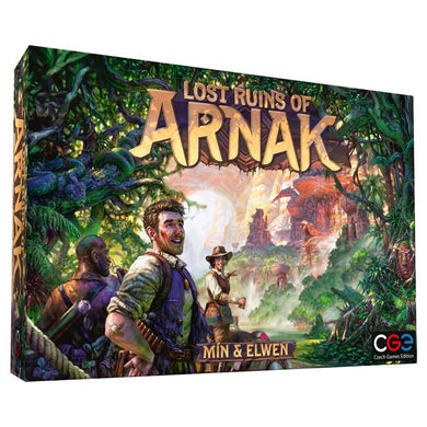 Lost Ruins of Arnak board game box cover at Board's Edge Games