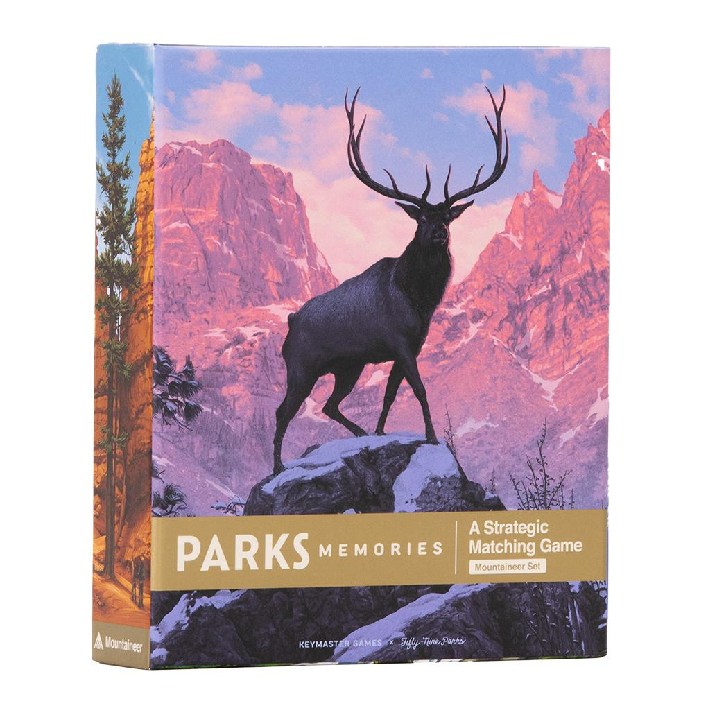 Parks Memories Mountaineer game box cover