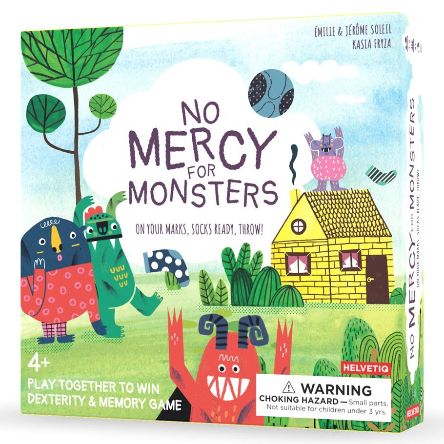 No Mercy for Monsters board game box cover