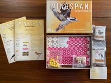 Load image into Gallery viewer, Wingspan Board Game Oceania Expansion box contents