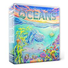 Load image into Gallery viewer, Oceans Evolution Series board game box cover