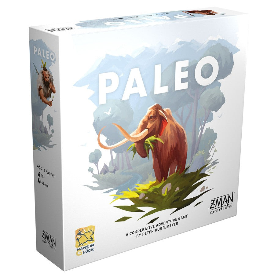 Paleo board game box cover