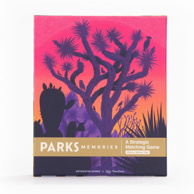 Parks Memories Plains Walker game front of box