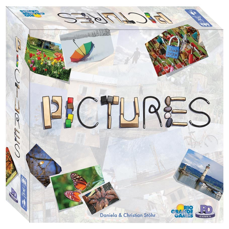 Pictures board game box cover