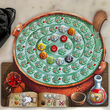 Load image into Gallery viewer, Quacks of Quedlinburg player board with tokens