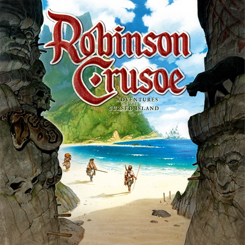 Robinson Crusoe board game box cover