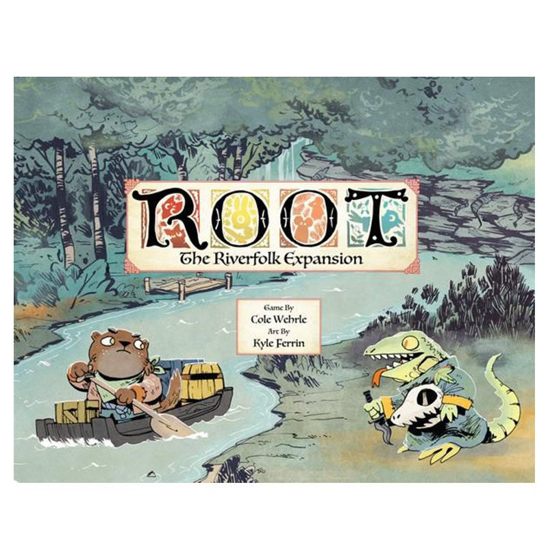 Root board game Riverfolk expansion box cover