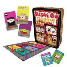 Load image into Gallery viewer, Sushi Go Party! Card game with components