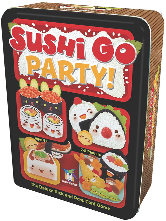 Sushi Go Party! Card Game box cover