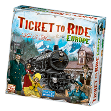 Load image into Gallery viewer, Ticket to Ride Europe board game box cover