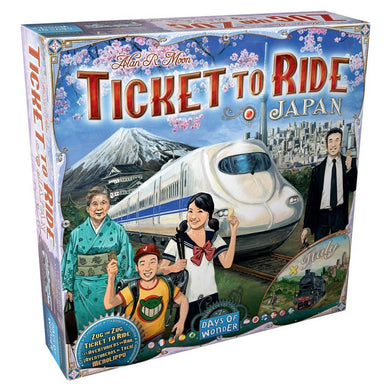 Ticket to Ride Japan Italy box cover