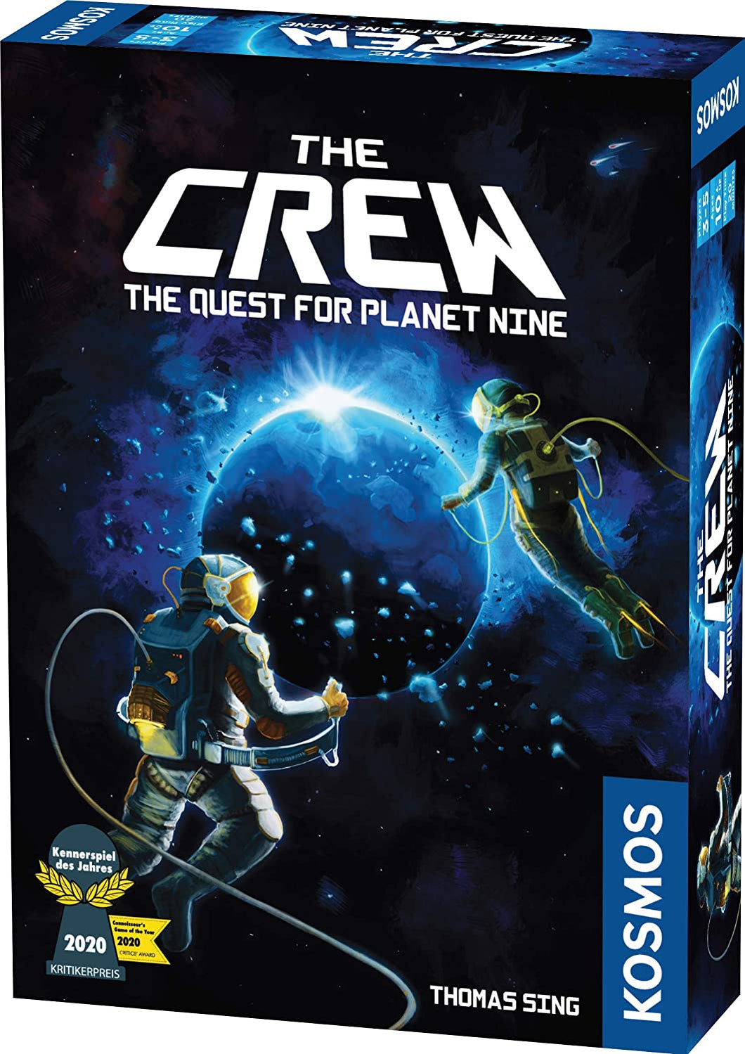 The Crew Quest for Planet Nine card game box cover