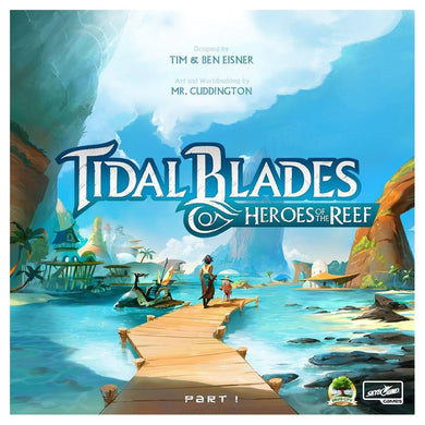 Tidal Blades Heroes of the Reef board game box cover