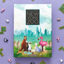 Load image into Gallery viewer, New York Zoo board game box cover