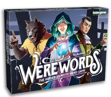 Werewords board game box cover