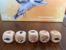 Load image into Gallery viewer, Wingspan Board Game Oceania Expansion dice with nectar