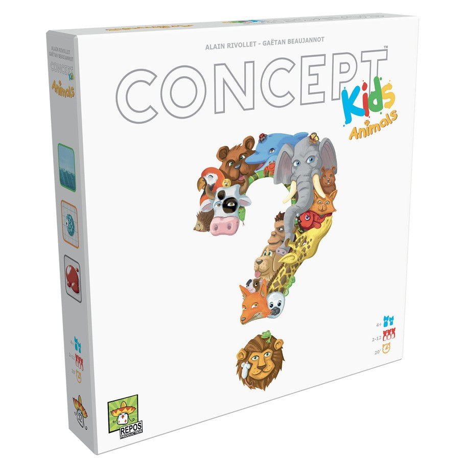 Concept Kids Animals board game box cover