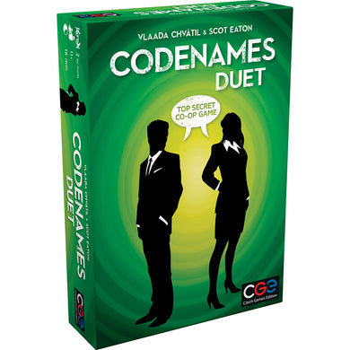 Codenames Duet board game box cover