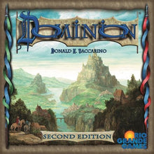 Load image into Gallery viewer, Dominion board game box cover