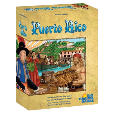 Puerto Rico board game deluxe edition box cover