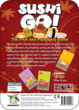 Load image into Gallery viewer, Sushi Go! card game back of the box