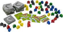 Load image into Gallery viewer, Carcassonne board game components