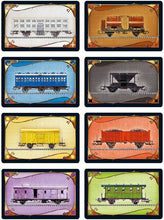 Load image into Gallery viewer, Ticket to Ride board game train cards