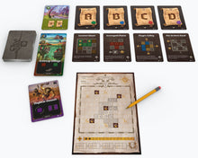 Load image into Gallery viewer, Cartographers A Roll Player Tale board game active play