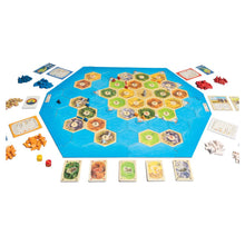 Load image into Gallery viewer, Catan Expansion Seafarers board game active play