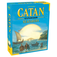 Load image into Gallery viewer, Catan Expansion Seafarers board game box cover