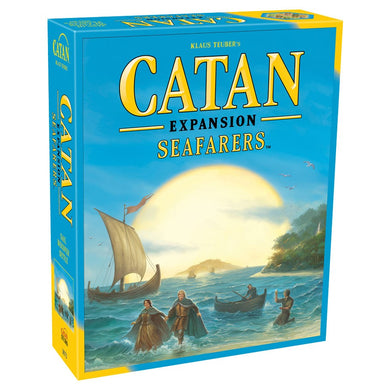 Catan Expansion Seafarers board game box cover