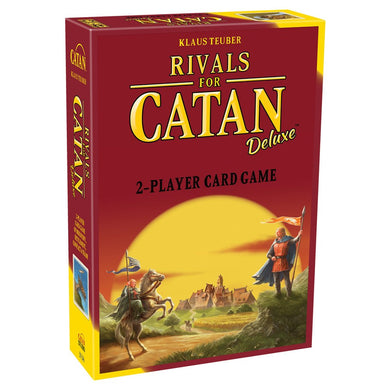 Rivals for Catan Deluxe card game box cover