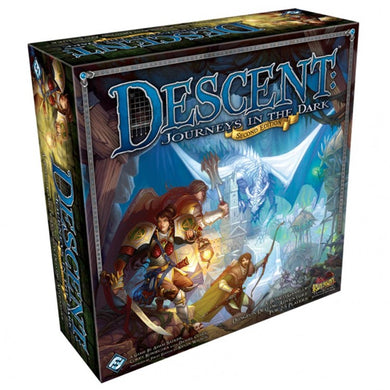 Descent Journeys in the Dark Second Edition board game box