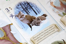 Load image into Gallery viewer, Fox in the Forest duet game fox card closeup