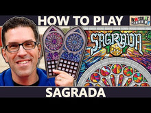 Load and play video in Gallery viewer, Sagrada board game video how to play